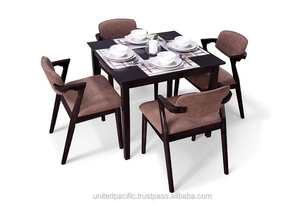 Modern dining set / Wooden dining table / Kamaka dining Chair 1+4