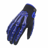 Skelton Finger Racing Motocross Gloves