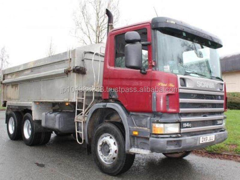 USED TRUCKS - 2001 SCANIA 114 380 6X4 TIPPER TRUCK (RHD 1801299)