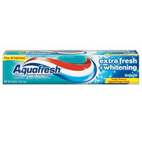 Aquafresh Fluoride Toothpaste Extra Fresh Whitening, 5.6 Oz by Abreva