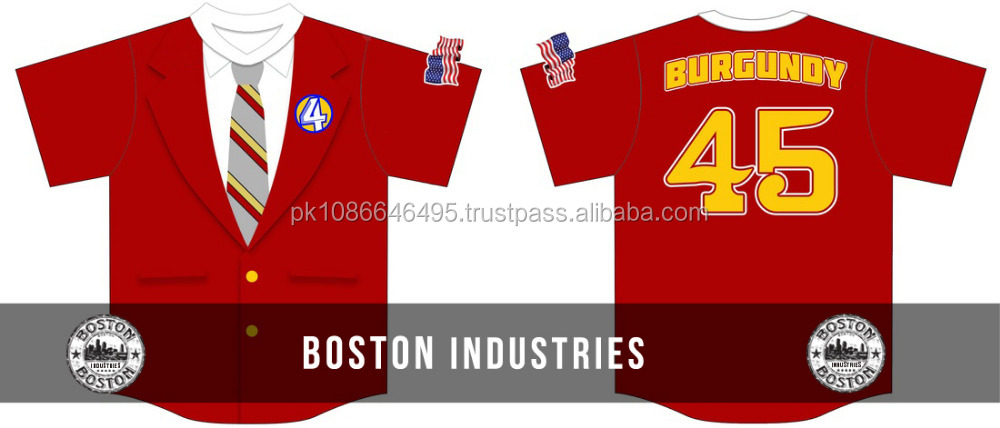 Channel 4 New Team Sublimated Baseball Jersey Men Baseball Jersey