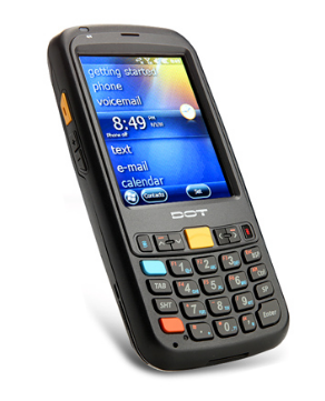 DOTH-300S Windows Handheld PDA with barcode scanner/WIFI/GPS/3G/ RFID*(optional)