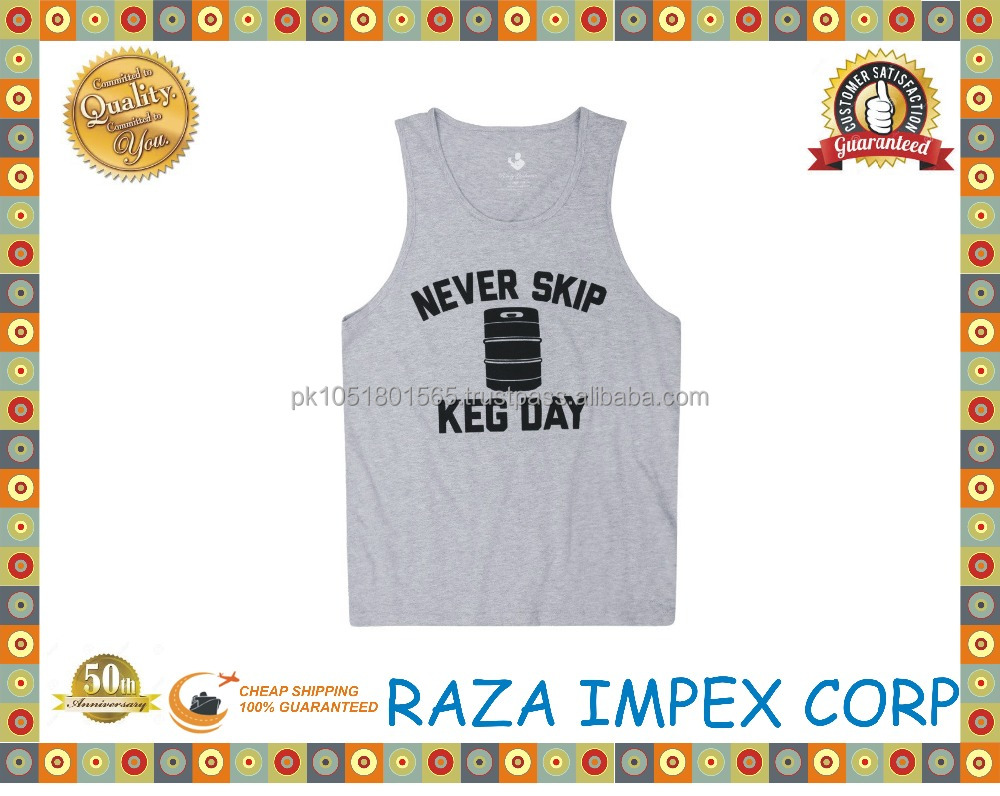 Attractive designer stock lot 100% cotton fabric mans tanks tops / Fashionable Tank Tops Stylish Men Wholesale Plain Gym Singlet
