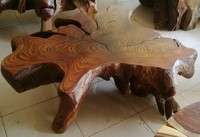 Characteristics natural BLORA root coffee table