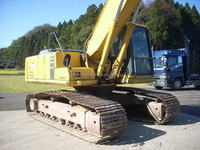 japanese made used komatsu PC210 crawler excavator for sale