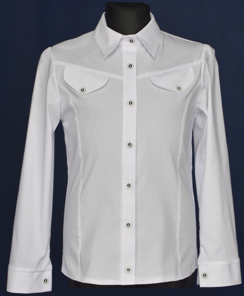 Long sleeve shirt school uniform