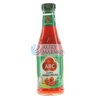 ABC Chilli Sauce SWEET SPICY Glass Bottle 335ml