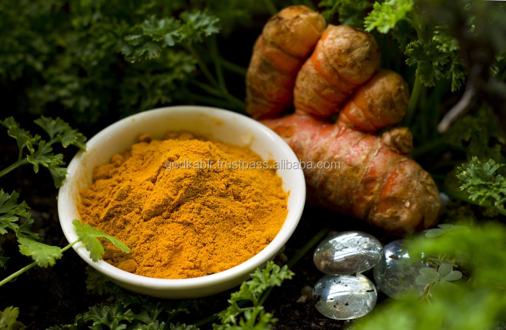 Low price indian spices wholesale organic Pure dried turmeric powder