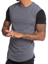 Slim Fit men Clothing Tops Male t shirt New Fashion Gym Sport Tops