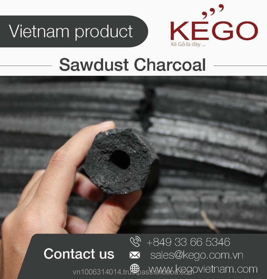 Smokeless Bamboo Briquette Charcoal