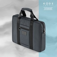 [KODE SQUARE] Labtop Bags Briefcase 15 inch laptop business cross travel (KBWM-BC-001-GY)
