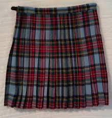 Unique Fashion plaid design mini Socottish kilt for young group TRI-1581