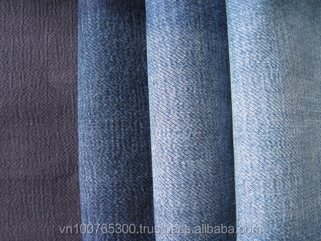 Heavy stretch denim composition with cotton PE spandex