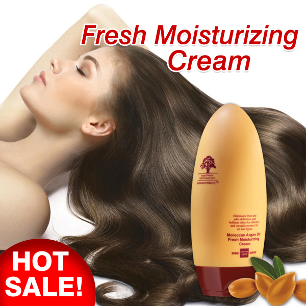 Private label hair care products argan oil perm repair cream for perm hair