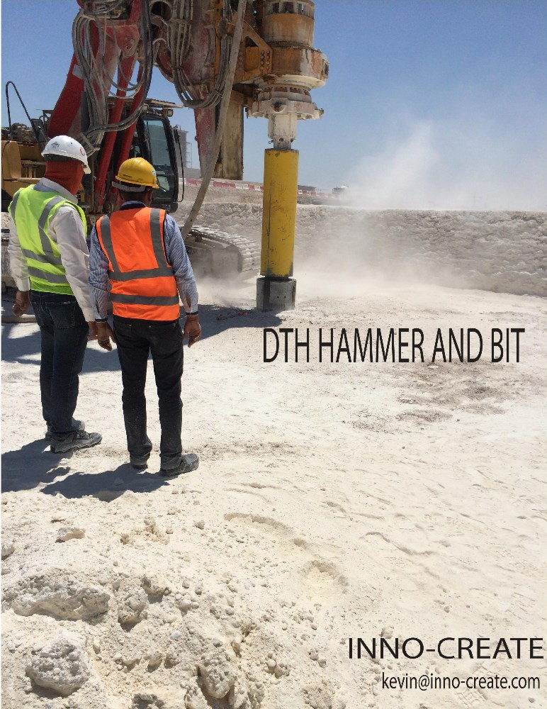 DTH hammer and Bit