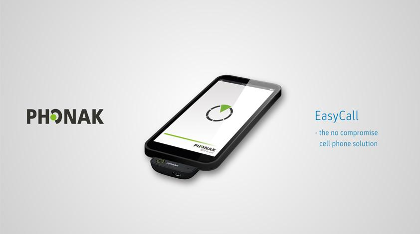 Phonak EasyCall The cell phone solution