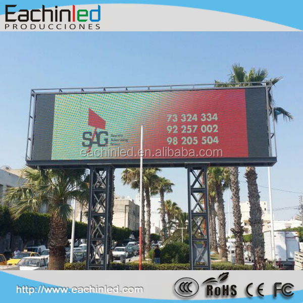 High brightness SMD P5 P6 P8 P10 P12.8 outdoor full color digital advertising led large screen display for sale