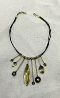 New arrival Bronze fashionable turkish style necklace BRN-1010