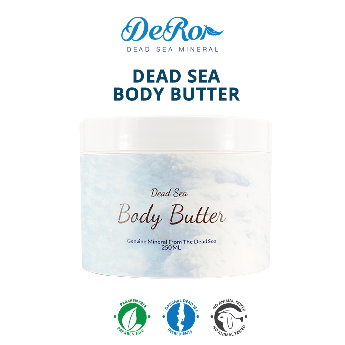 Deror effective Dead Sea Body Butter for dry skin, dead sea minerals