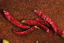 Red dried chili pepper