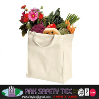 100% Organic Cotton Durable Grocery Tote Bags
