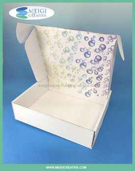 Custom Shipping Mailer Box, Subscription Box Packaging, Corrugated Mailer Box