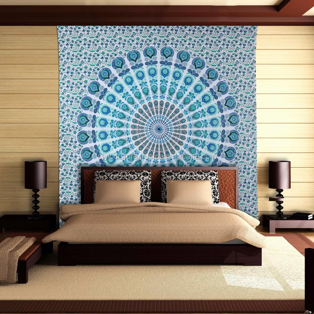 Mandala Tapestry Hippie Tapestries Buy Indian Boho Dorm Decor Yoga Mat