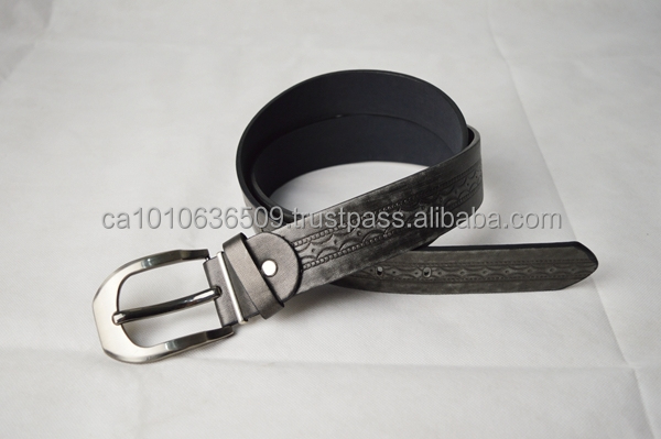 Men's pu belt with high quality