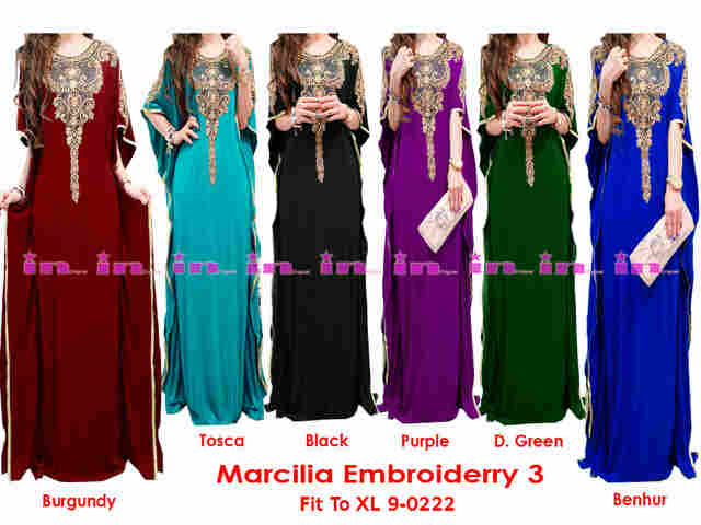 Kaftan maxi dress marcillia