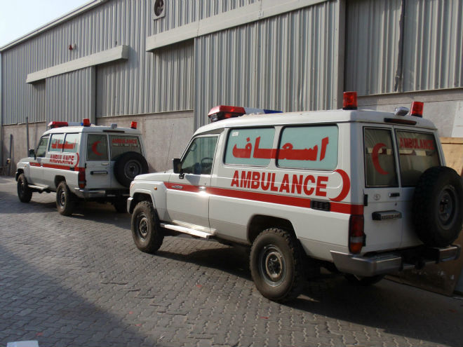 Best Quality and Price Emergency vehicle Ambulance Toyota Hard Top