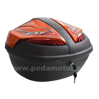(Cobra 32L) 2016 PEDA MOTOR NEW Motorcycle TOPCASE PP box tail boxes Italian fasion design (PEDA MOTOR high quality)