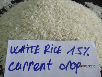 long grain white rice 15% broken