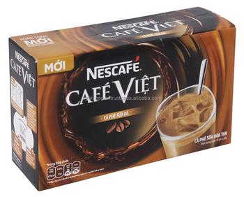 how to make ice coffee sachets