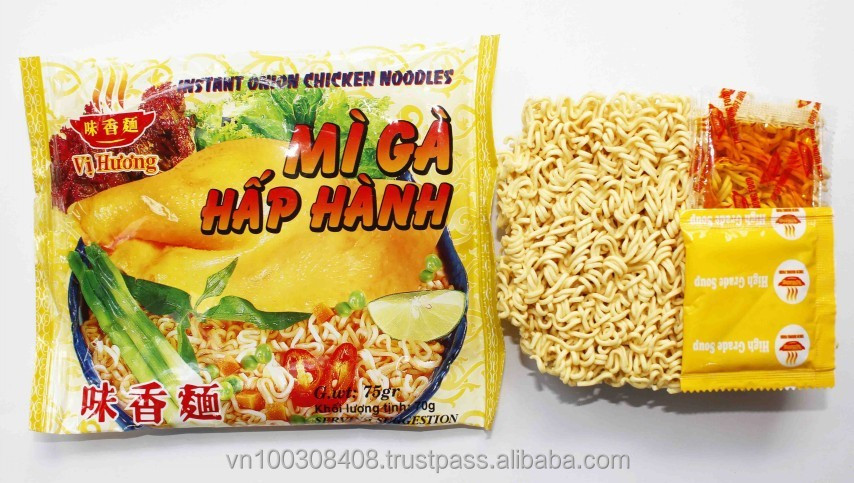 Instant Noodle 70g in Bag - Onion Chicken Flavour