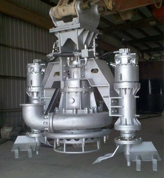 SUBMERSIBLE SAND PUMP WITH CUTTER