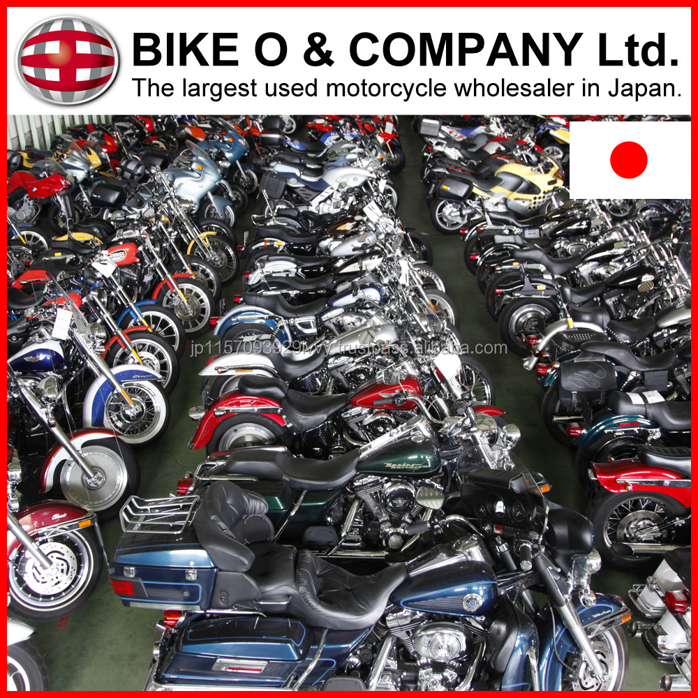 Used Various models of 250cc motorcycles automatic with running condition made in Japan