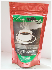 Kopi Luwak ( Civets Coffee Beans) From Aceh Gayo Highlands 100% Nature Pure