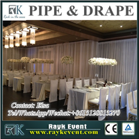High quality pipe and drape with carrying bag wedding pipe and drape pipe and drape from China factory