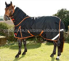 wholesale horse rugs - Equestrian Sports Horse Rug A classic rain blanket with neck