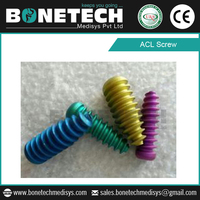 Titanium ACL Screw For Medical And
