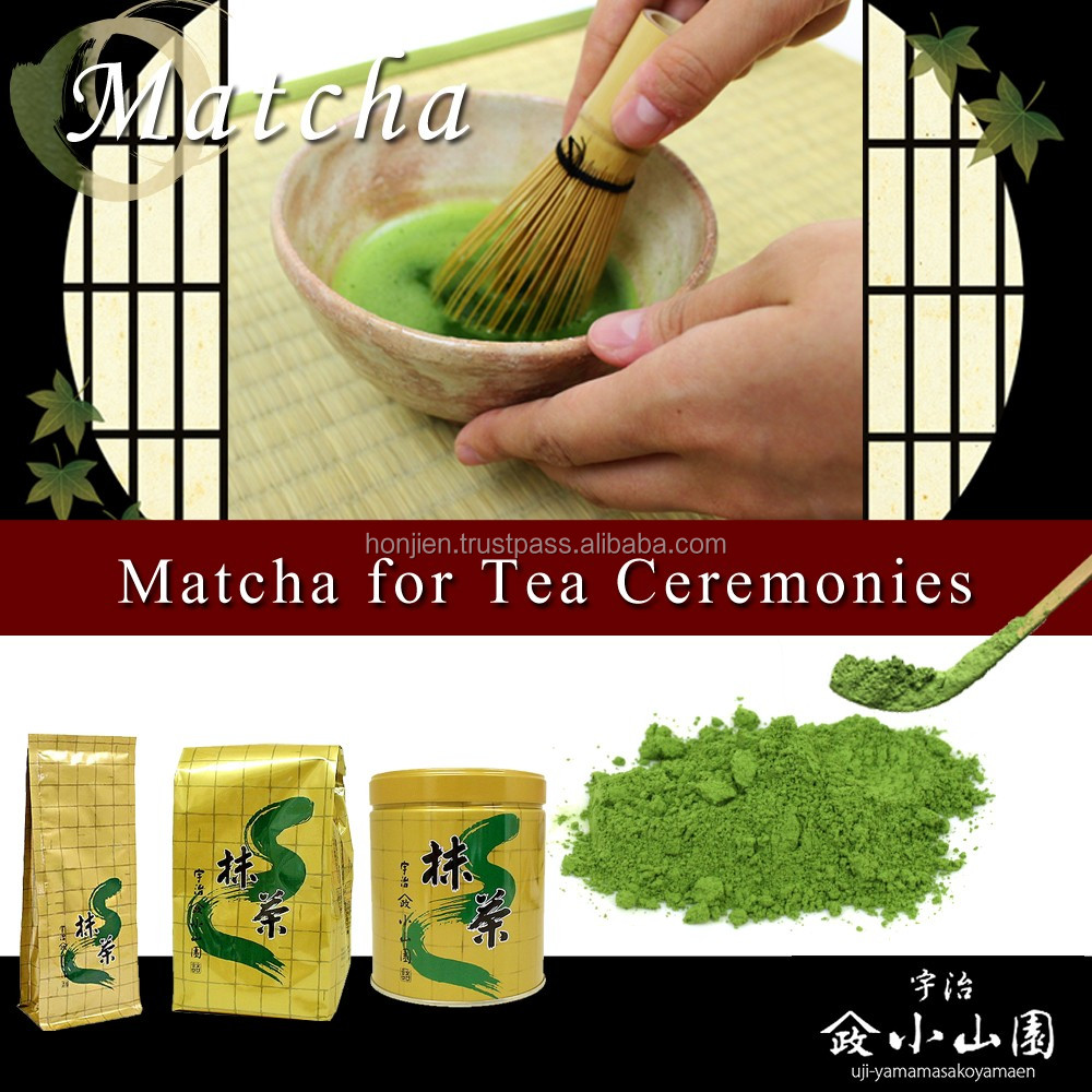 Koyamaen matcha green tea for caffeine powder drink , samples available