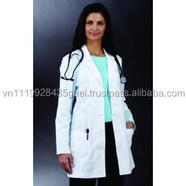 T_White Color Polycotton Hospital Medical Scrubs Doctors' Uniform hospital uniform