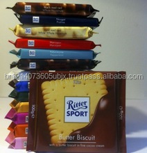 Ritter Sport, Dark Chocolate with Whole Hazelnuts, 100 gr.