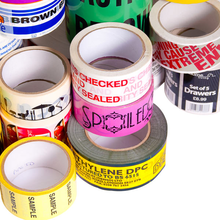 Clear Tape - Custom Printed Packaging Tape