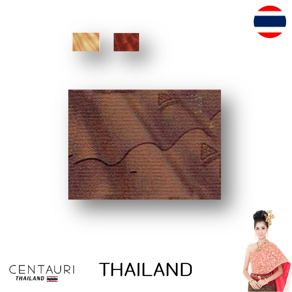 50*60*0.5 cm 3 waves early brown bronge ruby mix-color fiber cement Thai roof tiles and tile from Thailand
