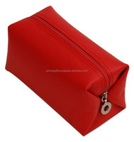 Personalized Imitation leather cosmetic bag/wholesale travel cosmetic bag/makeup bag