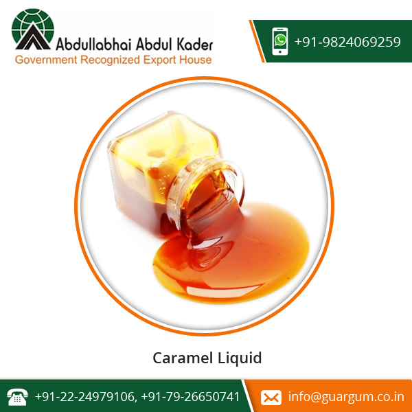 Totally Fresh and Natural Caramel Liquid from Bulk Manufacturer