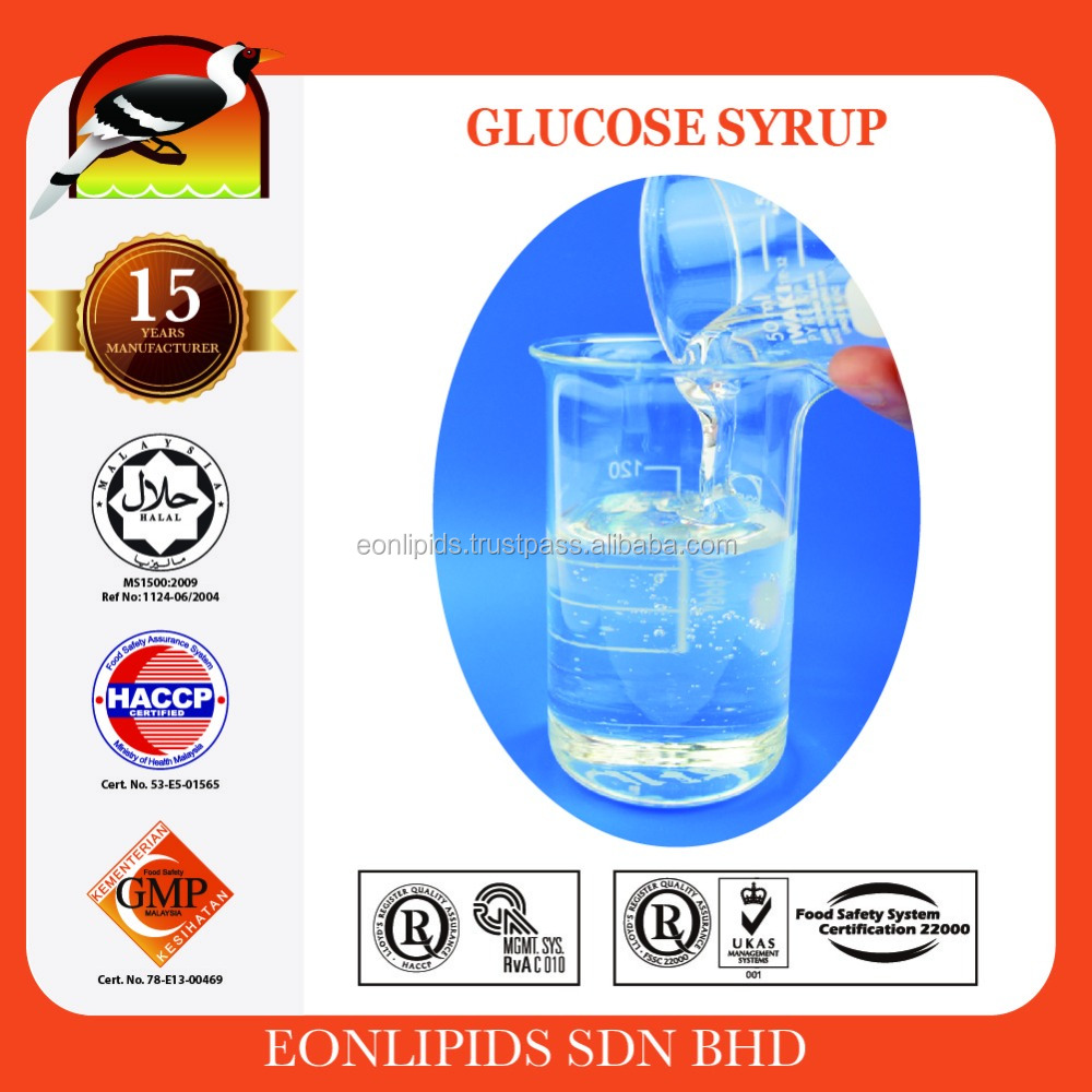 High Quality Glucose Syrup/Solid for Food Additives