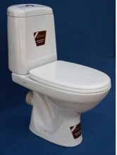 Water closet, P-trap, Dark Red, Dark Blue, Evory, Black, Green, White VI3P, VI20P, VI66P, BRAND MONACO