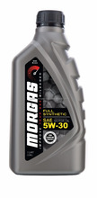 MorGas Full Synthetic 5w30 Motor Oil, 1 Qt (946mL)